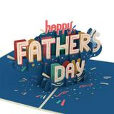 Happy Father's Day 3D Card
