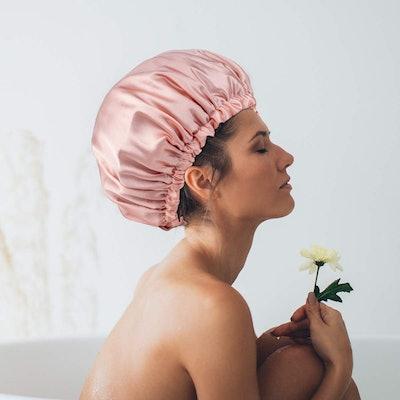 Aquior Reusable Shower Caps (4-Pack)