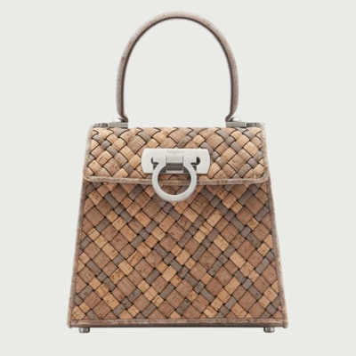 Ferragamo Earth Top Handle Bag