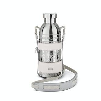 Dior Men Palladium-Finish Stainless Steel Water Bottle