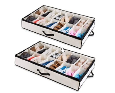 Woffit Under The Bed Shoe Organizer