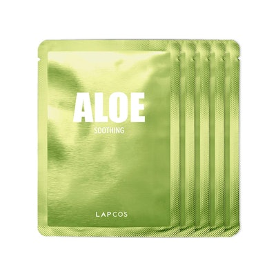 LAPCOS Aloe Sheet Masks (5 Pack)