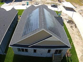 SunTegra solar shingles.