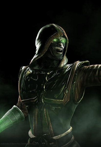 reptile in mortal kombat x