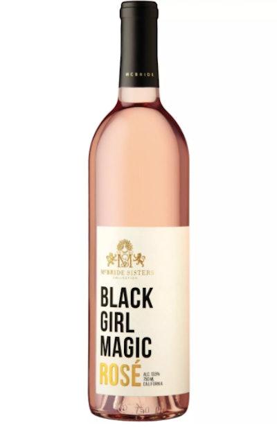 McBride Sisters Black Girl Magic Rosé Wine
