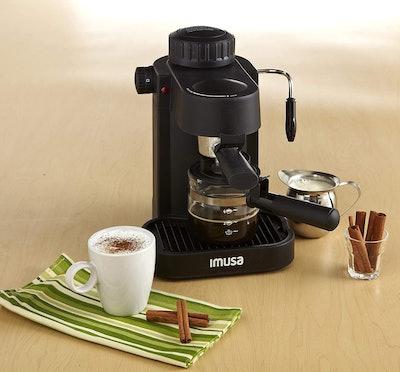 IMUSA 4-Cup Cappuccino & Espresso Maker
