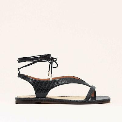 Nomasei LaNotte Embossed Sandals