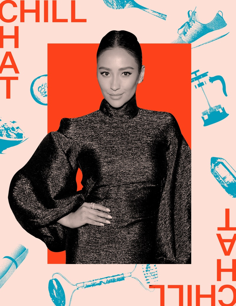 """Shay Mitchell on the """"weird"""" wellness ritual she does each morning, along with other self-care habits."""