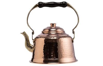 CopperBull Hammered Copper Tea Kettle