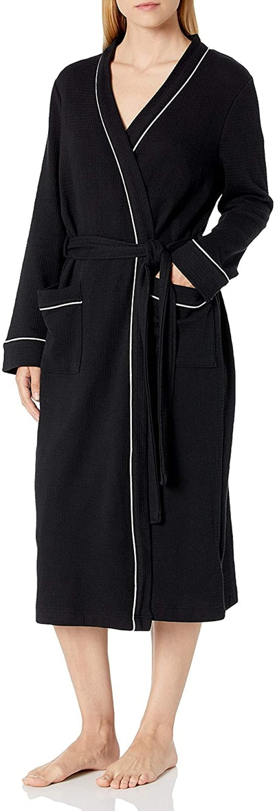 Amazon Essentials Waffle Full-Length Robe