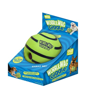 Wobble Wag Giggle Ball Interactive Dog Toy