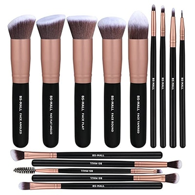 BS-MALL Premium Synthetic Makeup Brushes (14-Pcs)