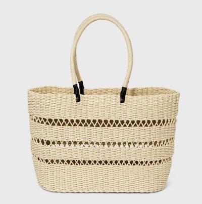 A New Day™ Straw Tote Handbag