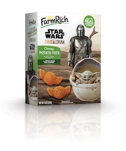 FarmRich Baby Yoda Cheesy Tots