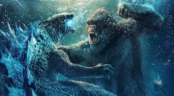 Poster art for Godzilla vs. Kong.