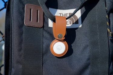 You pay a premium for Apple's official AirTag keychain and tags. Third-parties sell way cheaper ones.