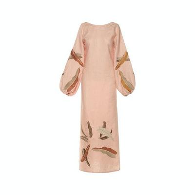 Juan de Dios Saman Linen Dress