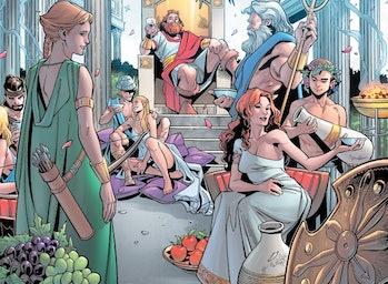 greek gods in marvel comics