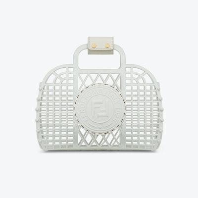 Fendi White Recycled Plastic Mini-bag