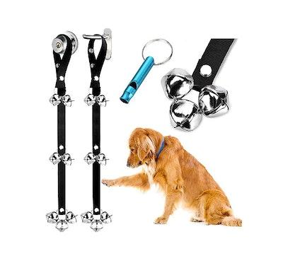 BLUETREE Dog Doorbells (2-Pack)