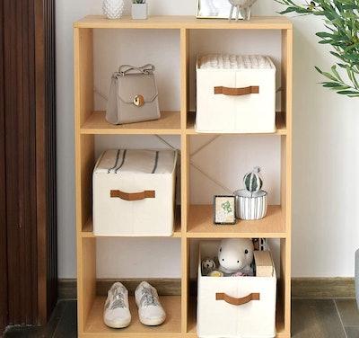 StorageWorks Decorative Storage Bins (Set of 3)