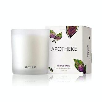 Apotheke Purple Basil Candle