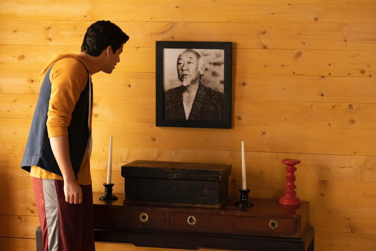 XOLO MARIDUEÑA as MIGUEL DIAZ in episode 309 of COBRA KAI