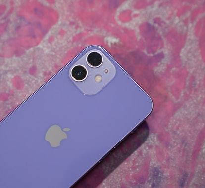 Purple iPhone 12 review dual 12 megapixel cameras