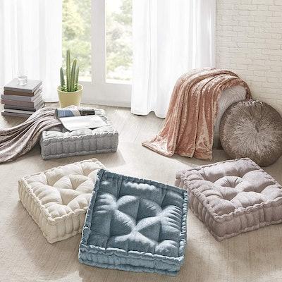 Intelligent Design Azza  Square Floor Pillow