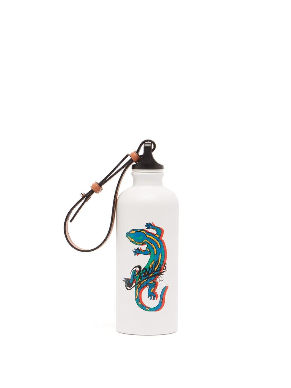 Paula's Ibiza x Sigg Salamander-Print Metal Water Bottle
