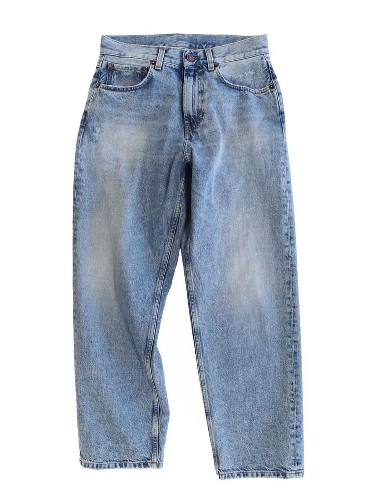 Skater Jean in Light Blue Wash