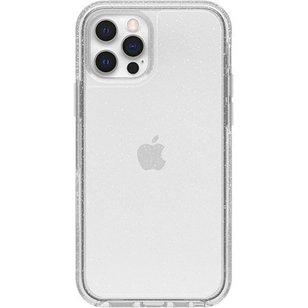iPhone 12 Symmetry Series Clear Case in Stardust Glitter