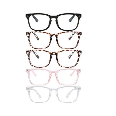 Clear Ant Blue Light Blocking Glasses