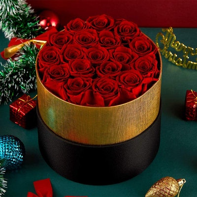 Eterfield Handmade Preserved Roses In A Box