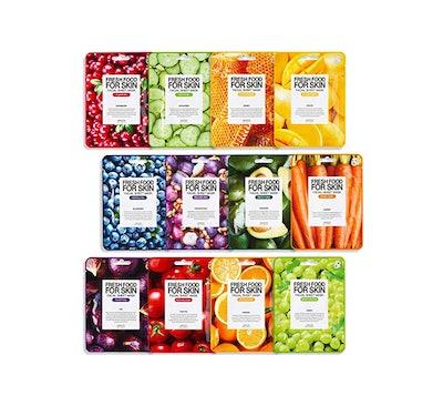 FARMSKIN Freshfood Face Mask (12-Pack)