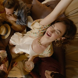Lily James in BBC's 'The Pursuit Of Love'