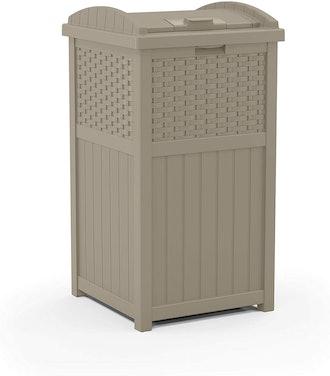 Suncast Hideaway Trash Can