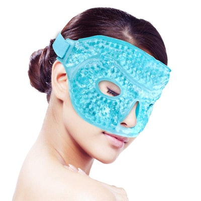 YunQiXin Heated Or Ice Gel Face Mask