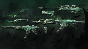 Valorant Forsaken Skinline weapons