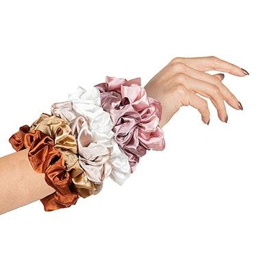 HARLOW Designer Silk Scrunchies