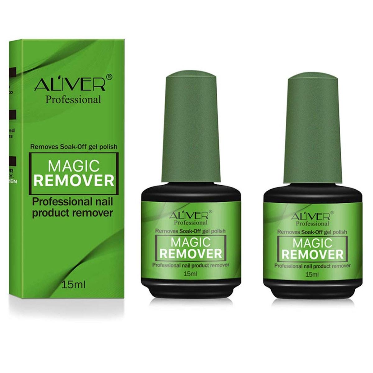 ALIVER Magic Nail Polish Remover (2-Pack)