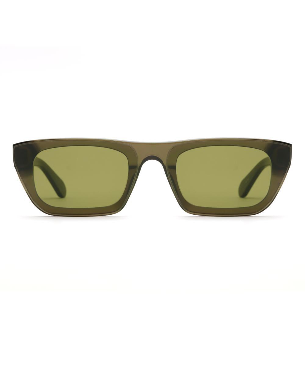 Wisner Nylon Sunglasses in Sage