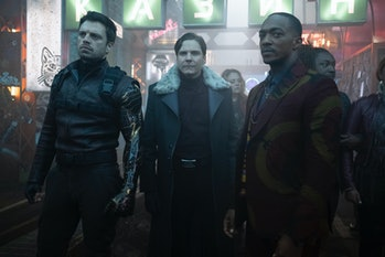 Bucky, Zemo and Sam in 'Falcon and Winter Soldier'