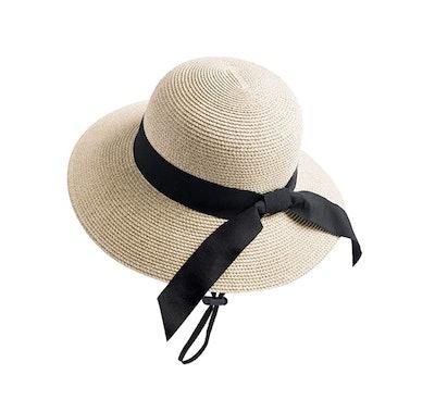 FURTALK Beach Sun Straw Hat