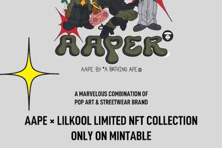 BAPE NFT sale