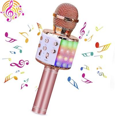 BlueFire Bluetooth 4-in-1 Wireless Karaoke Microphone