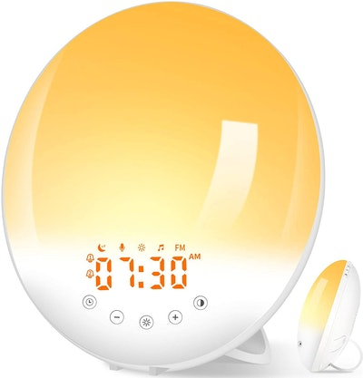 Pandawill 7-Color Sunrise Alarm Clock