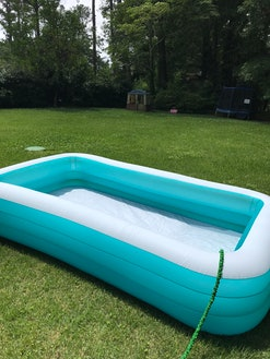 This inflatable pool is the only one you'll need.