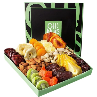Oh! Nuts Nut and Dried Fruit Gift Basket