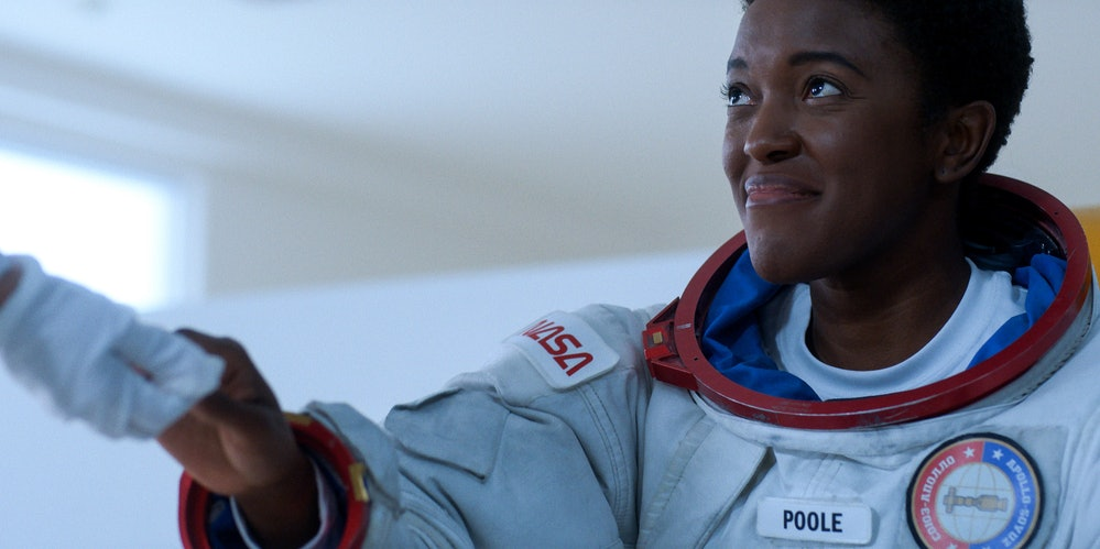 Krys Marshall as Astronaut Danielle Poole in Season 2 of For All Mankind